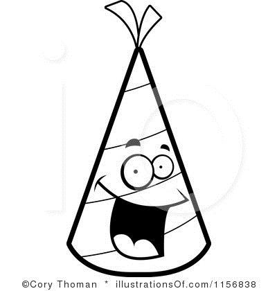 birthday clip art black and white free ; party-clipart-black-and-white-34