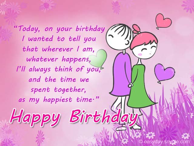 birthday congratulations messages ; romantic-birthday-messages