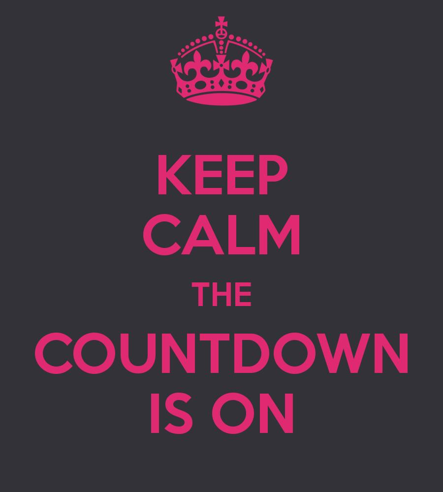birthday countdown ; keep-calm-the-countdown-is-on-2