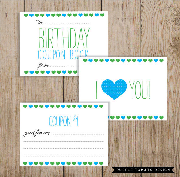 birthday coupon template ; Birthday-Coupon-Template