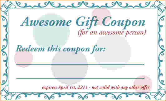birthday coupon template ; birthday-coupon-template-1