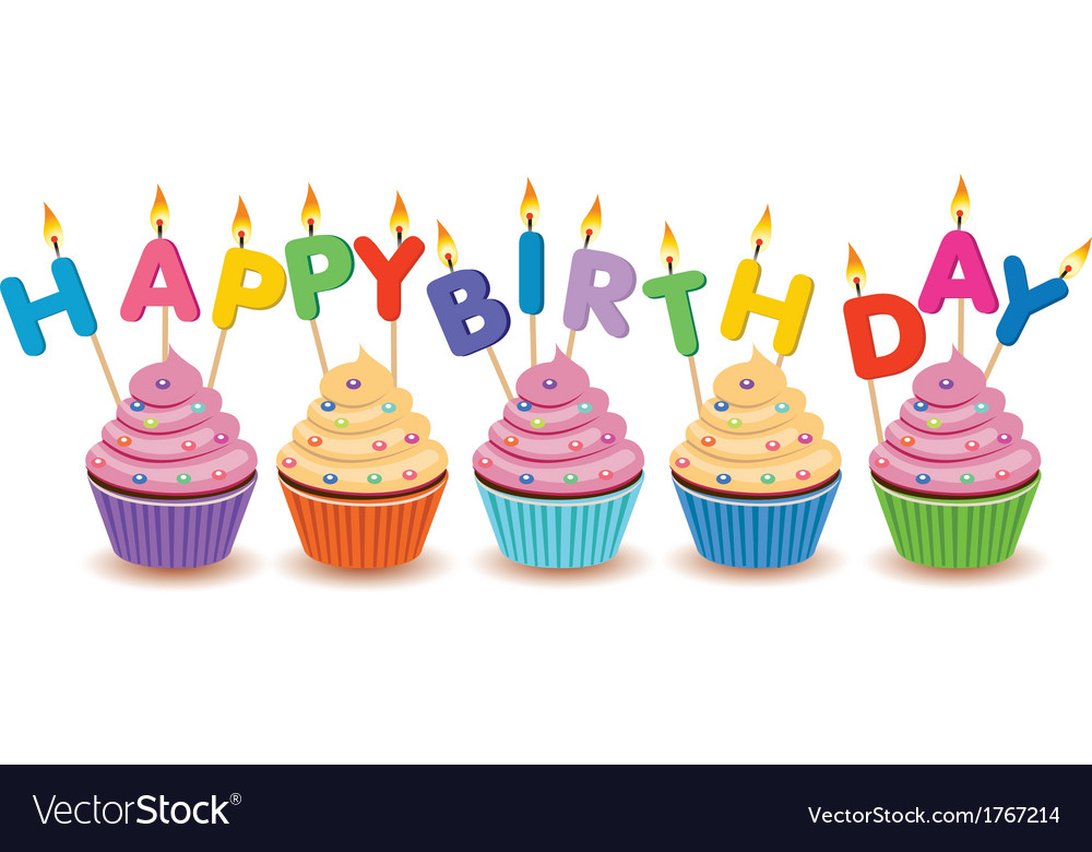 birthday cupcakes ; happy-birthday-cupcakes-card-vector-1767214