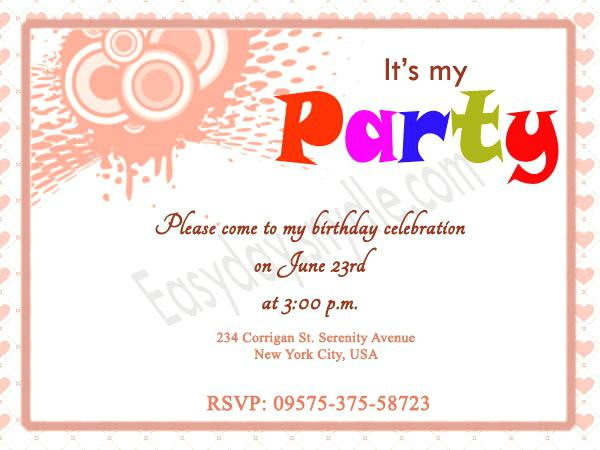 birthday dinner invite message ; party-invitation-text-message-themed-birthday-party-invitation-wording-ideas-birthday-invitation-samples-party-invitation-text-message-sample