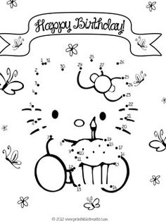 birthday dot to dot ; b448cdf5a04a24f4a4fdac50eff3962f--hello-kitty-favors-hello-kitty-parties