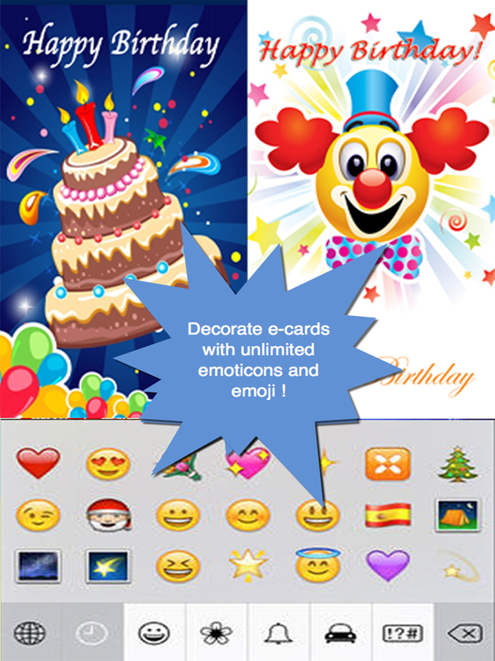 birthday emoji message ; us-ipad-2-the-ultimate-happy-birthday-cards-pro-version-custom-and-send-birthday-greetings-ecard-with-emoji-textvoice-messages-and-photo-editor