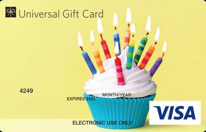 birthday gift card ; large_Cupcake_UGC_Visa_Card