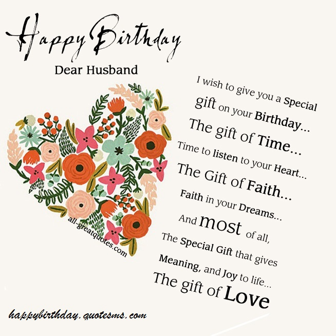 birthday gift message for husband ; Free-Birthday-Cards-Happy-Birthday-Husband