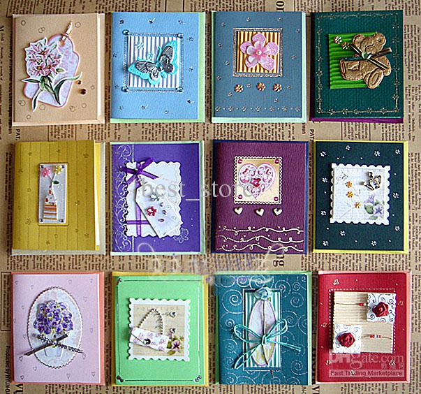 birthday greeting card assortment ; greeting-card-assortment-3d-flower-with-decorative