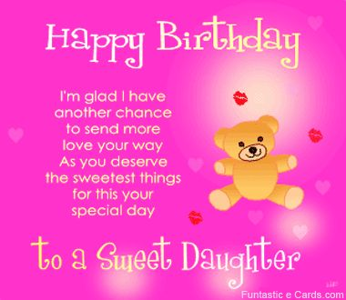 Birthday Greeting Card For Mother From Daughter To Mom
