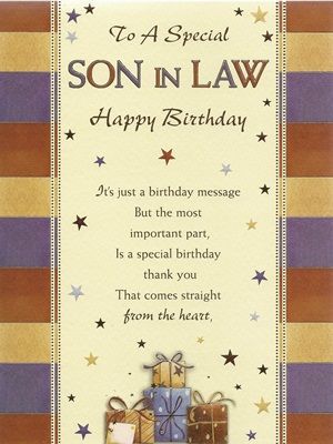 birthday greeting cards for son in law ; 2ded53048a6a38c6fa273d07a3d84bcd