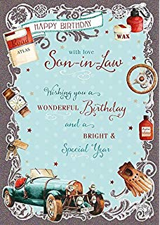 birthday greeting cards for son in law ; 61qWsrn6p8L