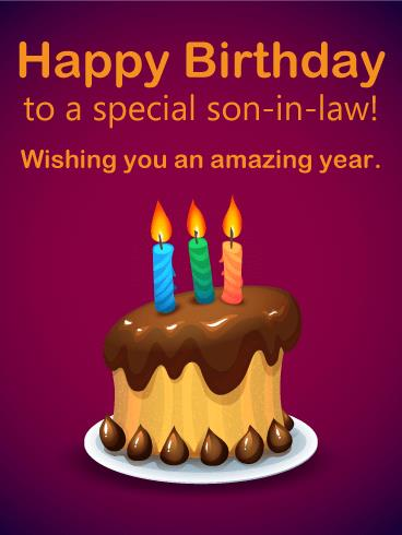 birthday greeting cards for son in law ; b_day_forsil02-12758a399f84a6bfffbc76611296d5b2