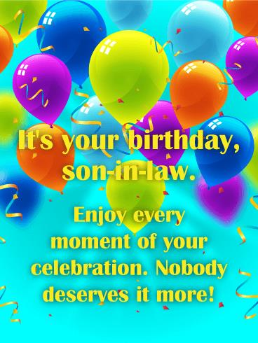 birthday greeting cards for son in law ; b_day_forsil05-49f8923020e4f1fda72717e3dcc551b6