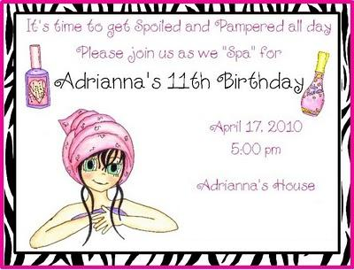 birthday invitation wording for 11 year old ; 11th_1