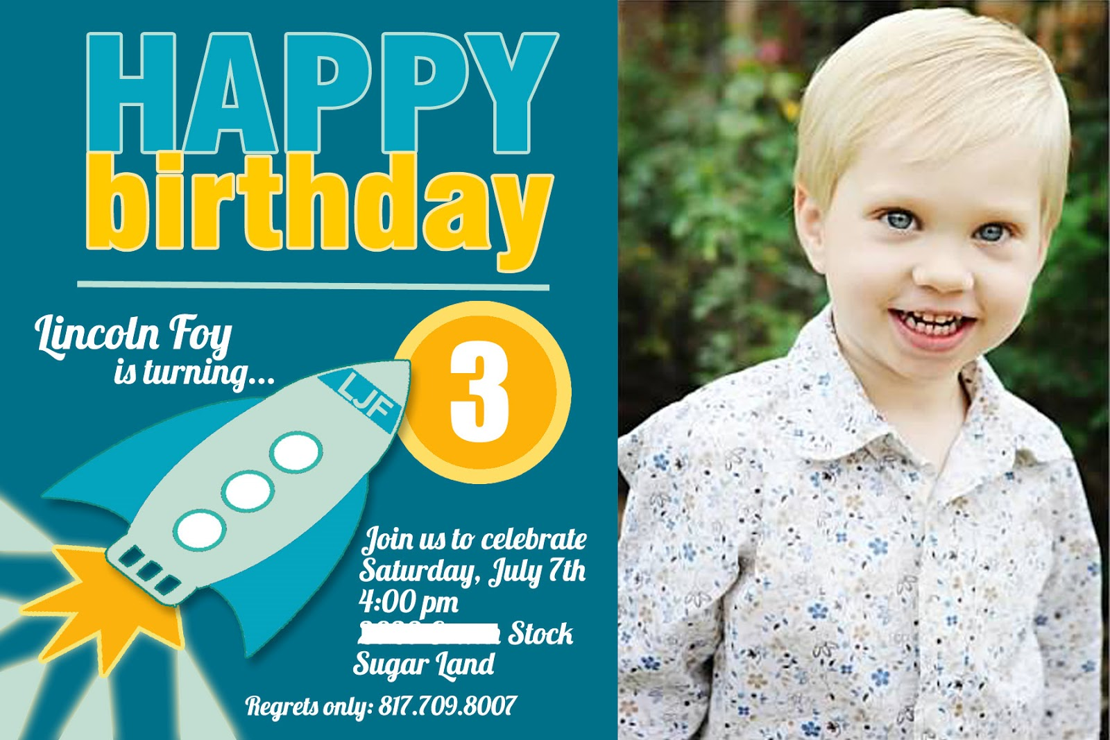 birthday invitation wording for 11 year old ; for-Facebook