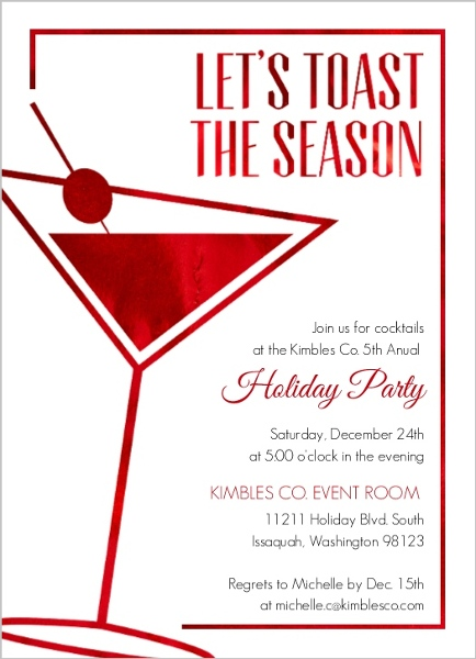 birthday invitation wording for colleagues ; modern-faux-red-foil-business-holiday-party-invita_66281_89634_1_large