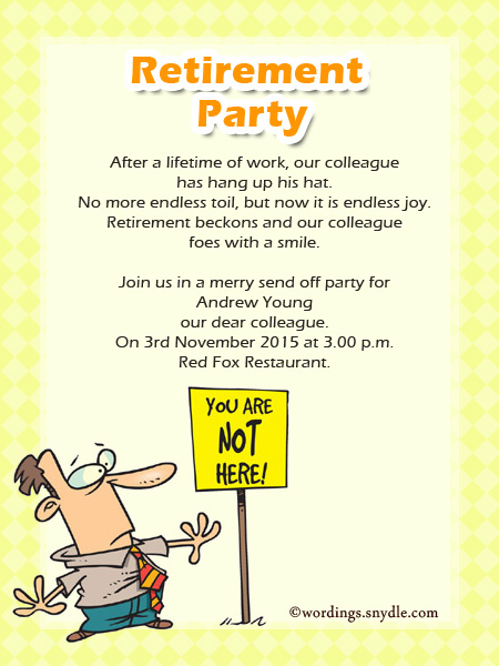birthday invitation wording for colleagues ; retirement-party-invitation-cards-sample