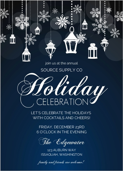 birthday invitation wording for colleagues ; snowflake-lantern-holiday-business-party-invitatio_76263_106874_1_large