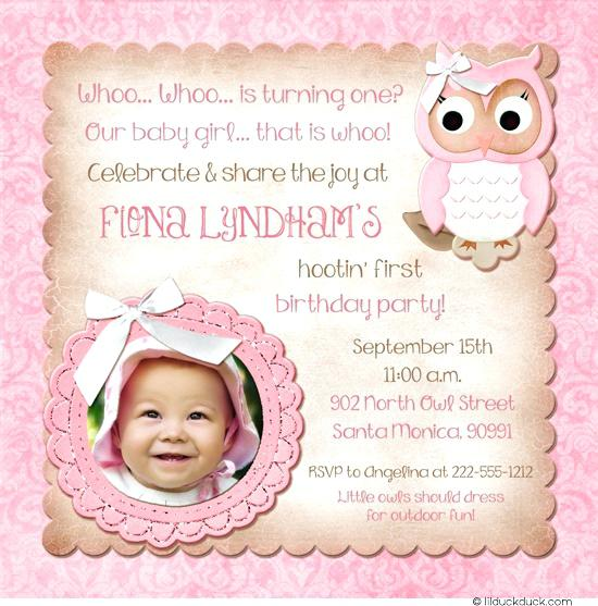 Birthday Invitation Wordings For Daughter 1st Wording