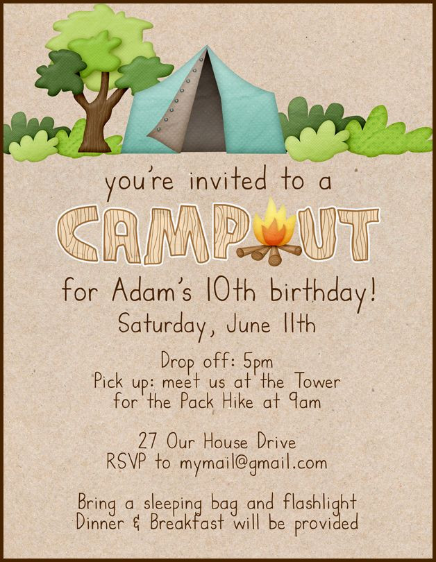 birthday invitation write up ; what-to-write-on-a-birthday-invitation-inspirational-campout-birthday-invitation-party-ideas-pinterest-of-what-to-write-on-a-birthday-invitation