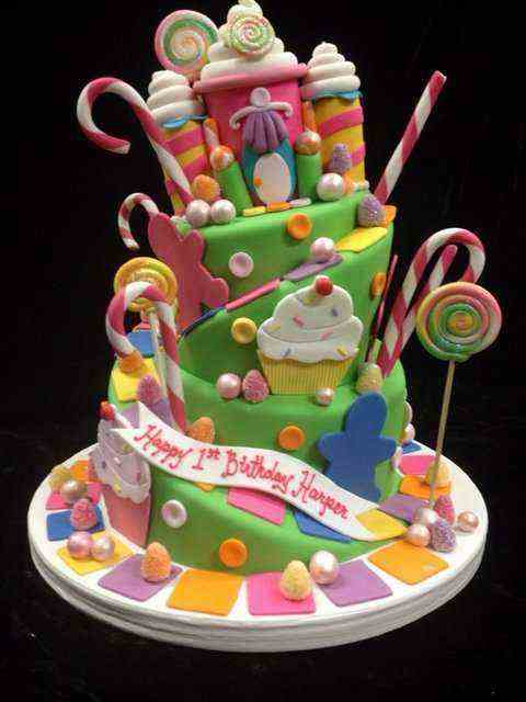 birthday kak photo ; birthday-cake-pictures-candyland-themed-for_1year-ols