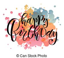 birthday lettering design ; hand-sketched-happy-birthday-text-as-birthday-logotype-badge-and-icon-happy-birthday-postcard-image_csp36513779