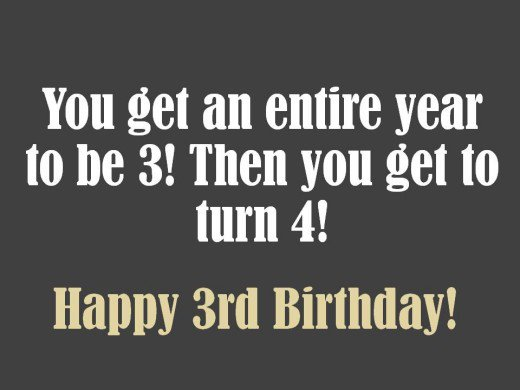 birthday message for 3 year old ; 8779993_f520