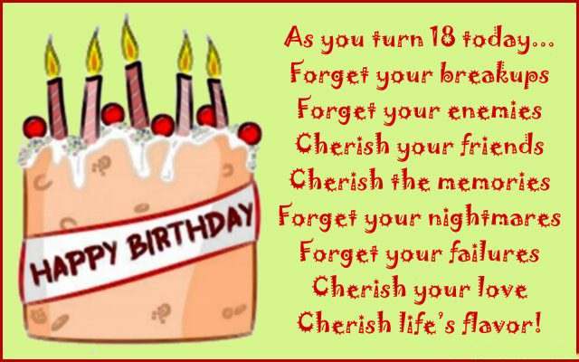 birthday message for 3 year old ; Sweet-18th-Birthday-Wishes-and-Messages-640x400