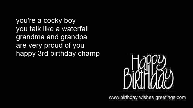 birthday message for 3 year old ; third-birthday-wishes-boy