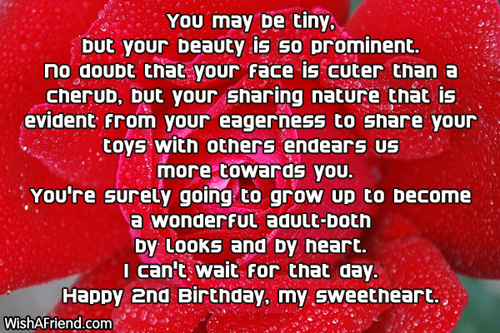 birthday message for a 2 year old boy ; 561-2nd-birthday-wishes