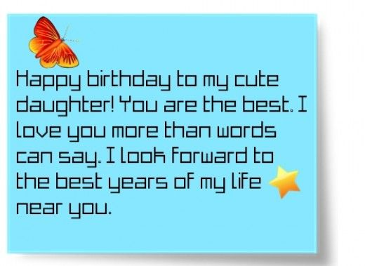 birthday message for a 6 year old daughter ; 3c5a5d2e0ebab2d5f2459f5dfa436ddb
