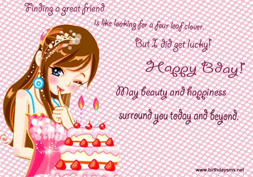 birthday message for a best friend girl ; f724e489706a82178a771d710a32c156