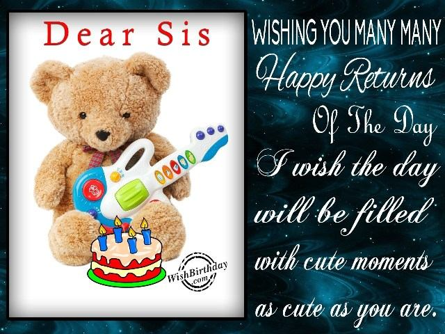 birthday message for a dear sister ; Birthday-SMS-Wishes-Messages-text-msg-greeting-cards-quotes-for-Elder-Sister