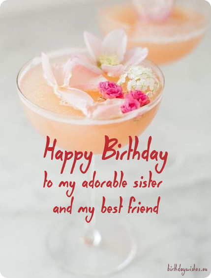 birthday message for a dear sister ; birthday-greeting-for-sister