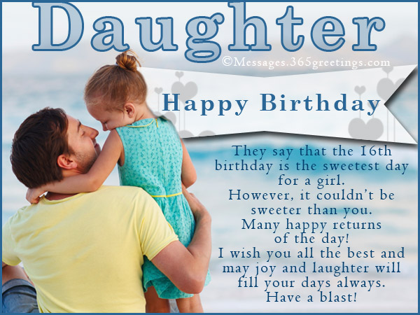 birthday message for a father from daughter ; birthday-messages-for-daughter