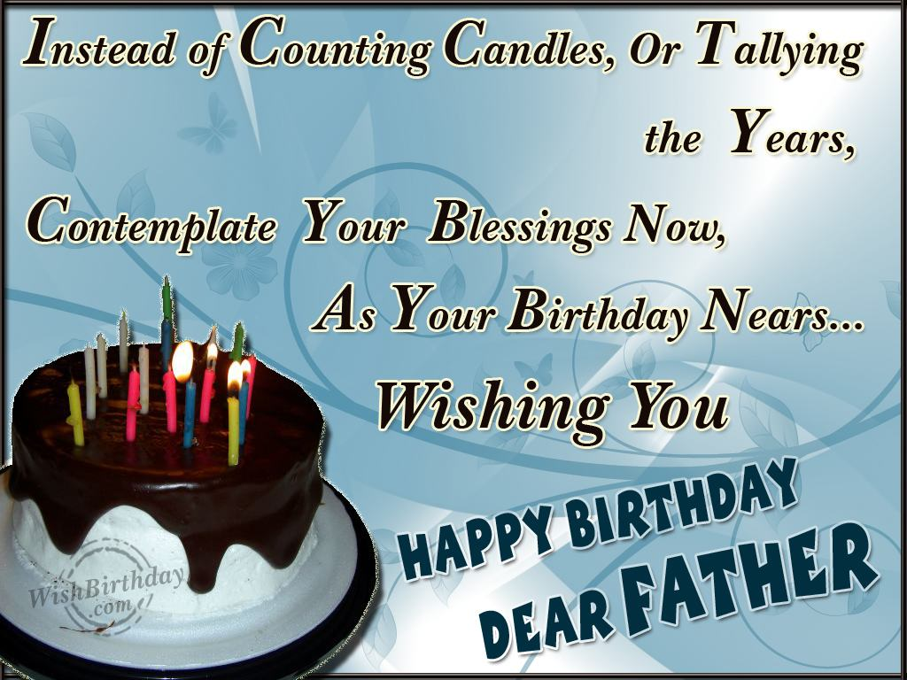 birthday message for a father from daughter ; birthday-wishes-for-father-17