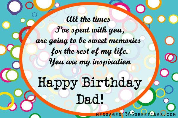 birthday message for a father from daughter ; dad-birthday-wishes