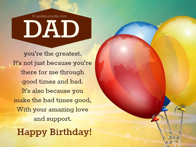 birthday message for a father from daughter ; dad-happy-birthday-quotes