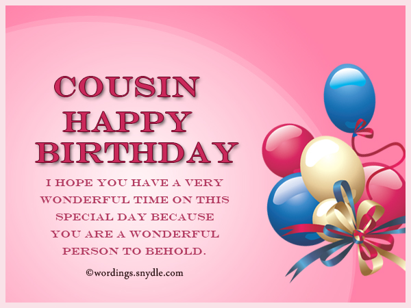 birthday message for a girl cousin ; happy-birthday-wishes-for-cousin-1