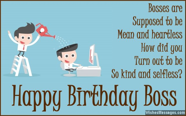 birthday message for a great boss ; Sweet-birthday-message-for-boss