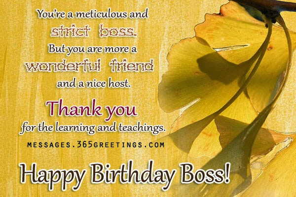 birthday message for a great boss ; birthday-quotes-for-boss