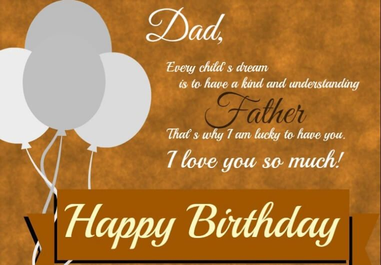 Birthday Message For Dad From Daughter Best Happy Birthday Wishes