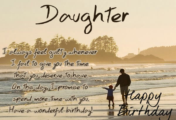 birthday message for dad from daughter ; happy-birthday-daughter-dad-love