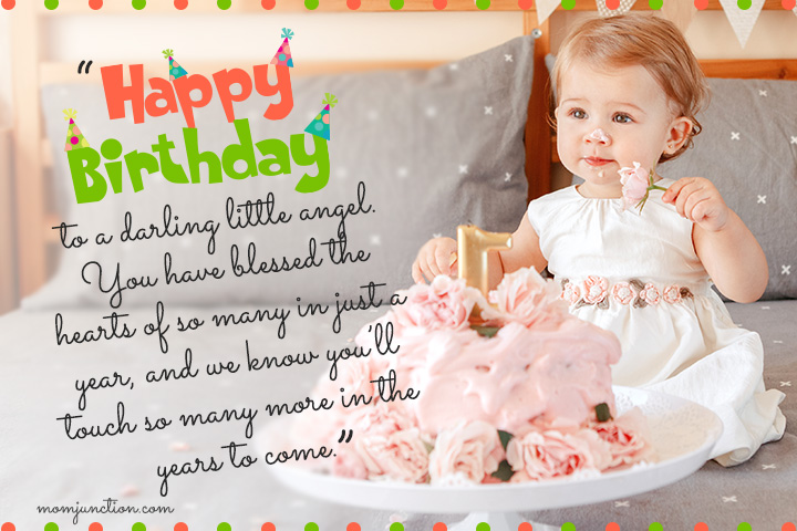 birthday message for daughter turning 1 ; 1st-Birthday-Wishes-For-Daughter1