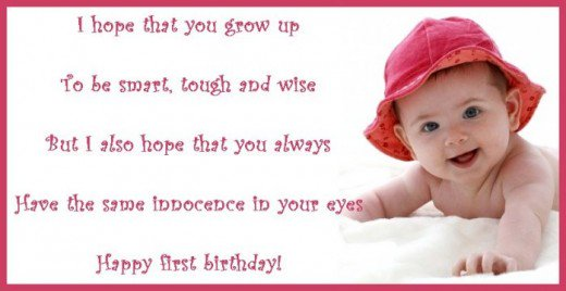 birthday message for daughter turning 1 ; 7820708_f520