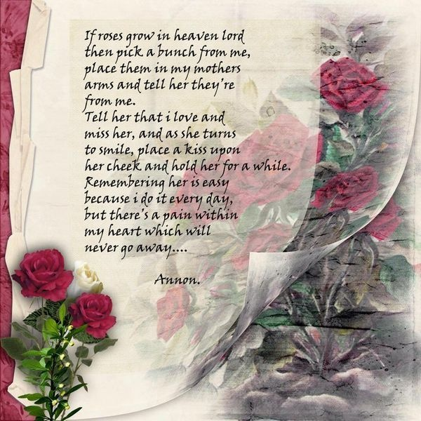 birthday message for deceased mother ; 4f468a3a67bc9394dd9755820b40bc97
