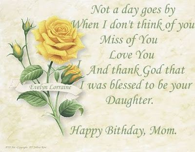 birthday message for deceased mother ; 893f824cd14cfec4ecf272bc33a04f48