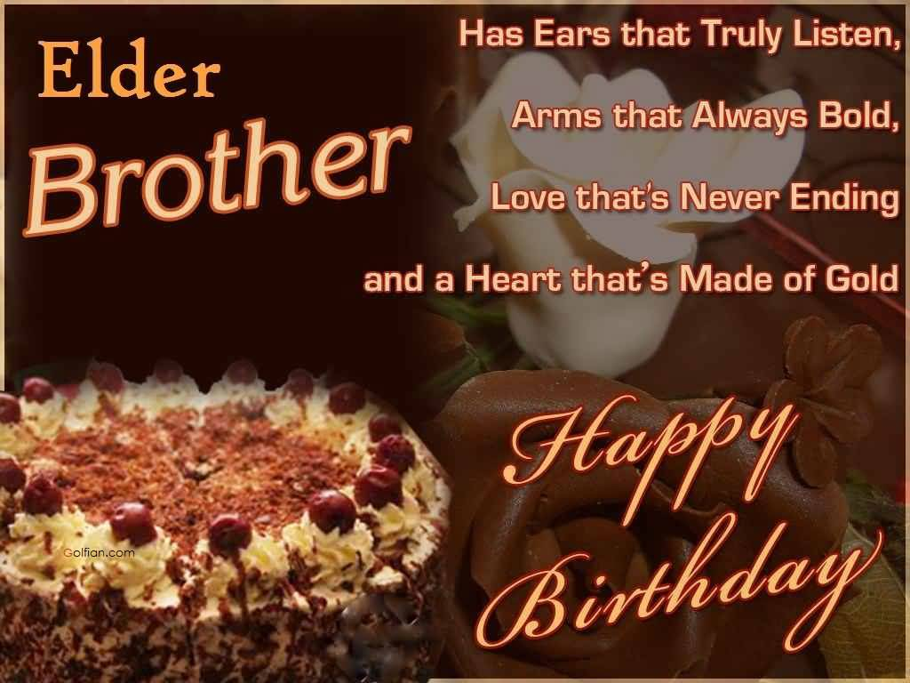 birthday message for elder brother ; Delicious-Cake-Birthday-Wishes-For-Elder-Brother
