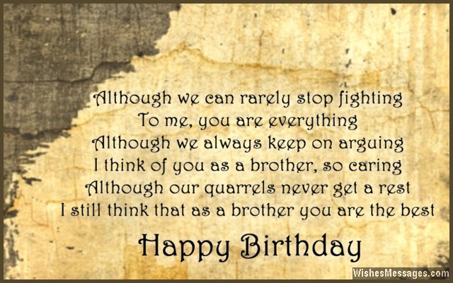 birthday message for elder brother ; Sweet-birthday-message-for-brother