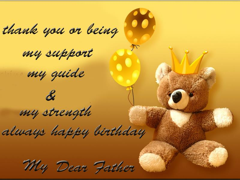 birthday message for father from daughter tagalog ; Birthday-Greetings-For-Father7865